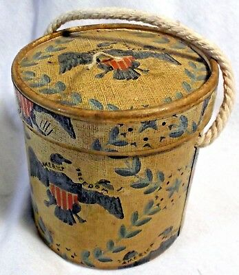 Antique 'America Freedom' String Holder with Twine