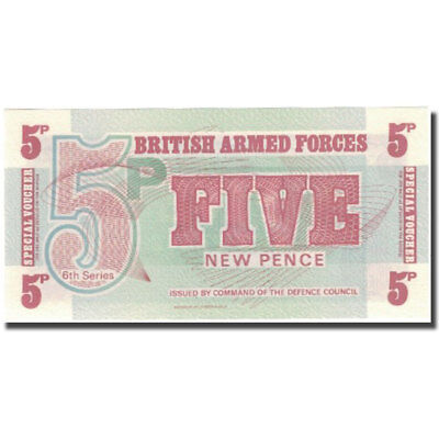 [#575731] Banknote, Great Britain, 5 New Pence, Undated (1972), KM:M44a