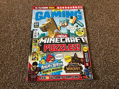100% Gaming Magazine Issue 07 Minecraft, Angry Birds, World Of Warcraft