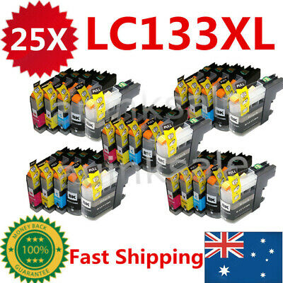 25x Ink Cartridge LC133 LC133XL LC131 For Brother MFC J6920DW J6720DW J172W DCP