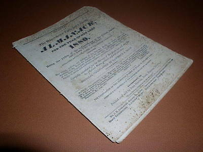 Vintage Hagerstown Town and Country Almanack, 1880, No. LXVIII, John Gruber!