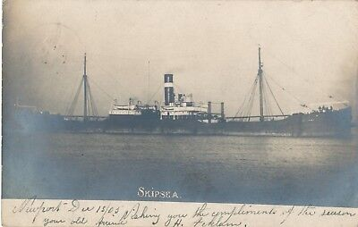 SKIPSEA - Old steamer - Real Photographic -  EB-20