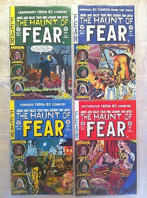 The Haunt Of Fear. Comics. 4 Of. Tales From The Crypt. In New Mint Condition.