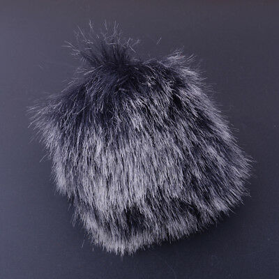 MIC Furry Cover Microphone Windshield Fur Wind Muff Windscreen Fit Camcorder