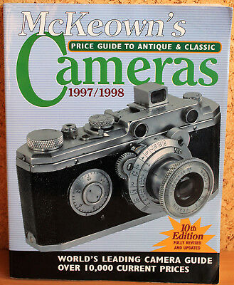 McKeown's Price Guide to antique&classic Cameras 10th Edition 1997/1998