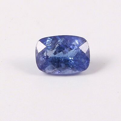 1.10 Cts Blue Tanzanit Loose Gems Stone  Octagon Shaped Faceted