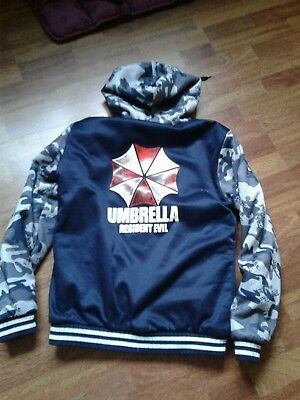 Coole Umbrella Corporation Resident Evil Jacke Gr. XL  NEU