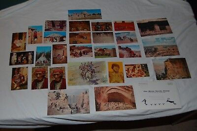 Lot 28 Native American Postcard Navajo Monument Valley Arizona Mesa Verde Indian