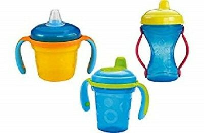 Fisher Price baby /toddler Sippy Cups No Spill Leak Drip Proof &Handles BPA Free