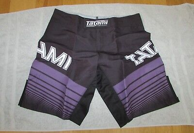 NEW - Tatami Fightwear BJJ Fight Training Shorts - Jiu Jitsu - Size XL (36)