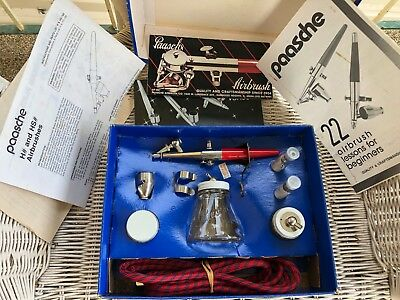 AIRBRUSH KIT PAASCHE Un-used craft painting Air Brush Ceramic paint new un-used
