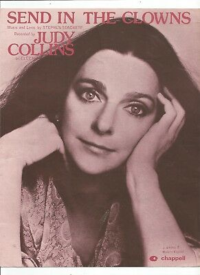 Judy Collins Send In The Clowns Sheet Music