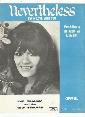 Eve Graham And The New Seekers Nevertheless Sheet Music