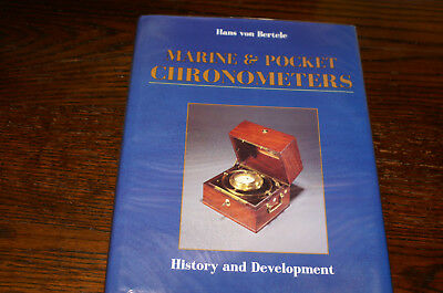 Marine And Pocket Chronometers  History And Development  By Hans Von Bertele
