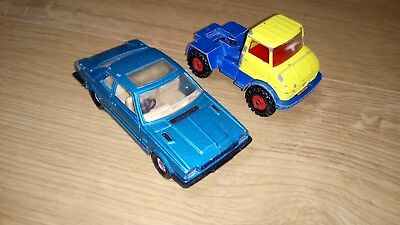 Corgi Toy Vehicles - car and truck - used and old