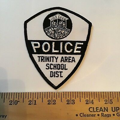 Old Trinity Area School District Pennsylvania Pa Campus Police Patch
