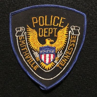 Tennessee - Smithville Police Department Patch - CHEESE CLOTH PATCH