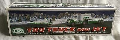 Hess Toy Truck & Jet in Box 2010