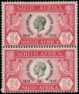 South Africa #69 MH vertical pair