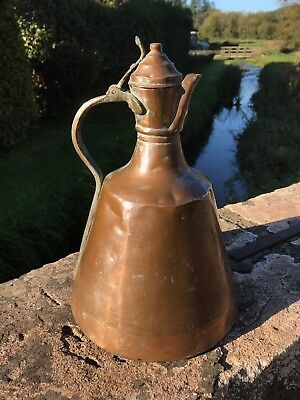 Arts And Crafts Copper Coffee Pot