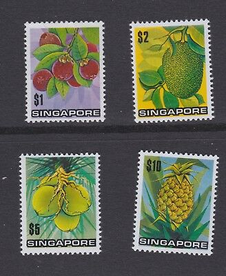 Singapore stamps 1973 MNH Fruits high values