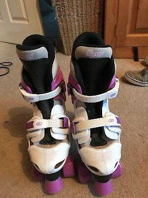 Boot Skates Adjustable From Size 3-5