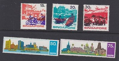 Singapore stamps 1971 MNH Asean set