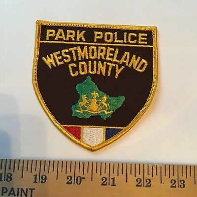 Old Westmoreland County Pa Pennsylvania Park Police Patch