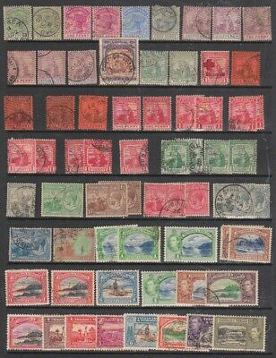 TRINIDAD &  TOBAGO 1883 - 1980s  MH / USED   2 PAGES