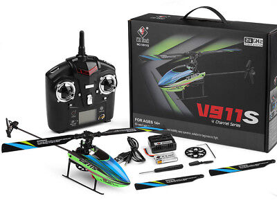 WLtoys V911S 2.4GHz 4CH 6-Axis Gyro Flybarless RC Helicopter RTF