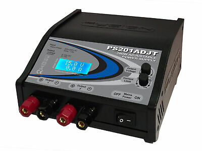 Fusion 200W Twin Adjustable Power Supply - O-FS-PS201ADJT