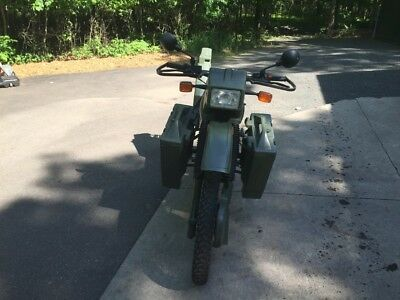 1991 Harley-Davidson MT 500  1991 MT 500 army bike very rare