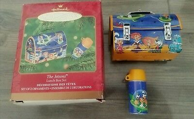 The Jetsons Lunchbox With Thermos Christmas Ornament New In Box