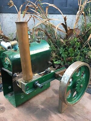 House Clearance Attic Barn Find Rare Vintage Fixed Large Live Steam Engine