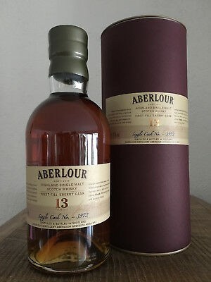 Aberlour First Fill Sherry Cask 13yo years old Whisky Single Cask 3972