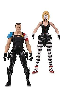 Doomsday Clock Comedian Marionette Action Figure 2 Pack - New/boxed