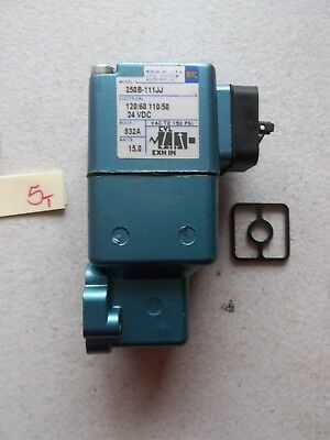 New In Pkg Mac Pneumatic Solenoid  Valve 250B-111Jj (212-2)