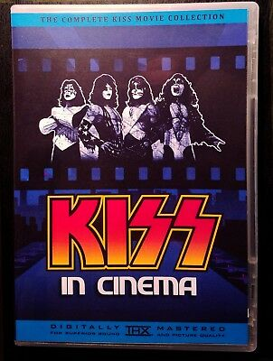 KISS In Cinema - Bluray / DVD Collection - The Complete KISS Movie Collection