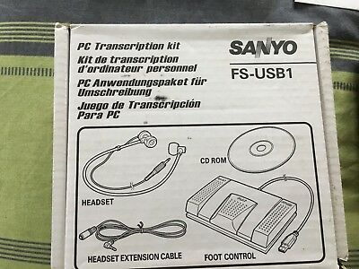 Sanyo PC transcription kit