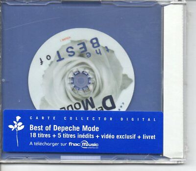 Depeche Mode The Best Of Rare French Digital Card Sealed