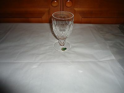 Vintage Waterford Crystal Colleen Pattern Claret Wine Glass. Ireland.  4 Ounces.