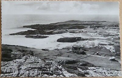RP Postcard of Clachtoll, near Lochinver, Sutherland.