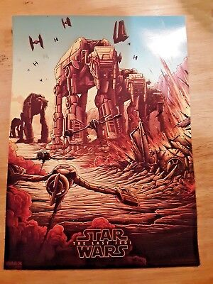 Star Wars The Last Jedi AMC Exclusive IMAX Week #2 of 4 Poster