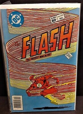 The Flash #316 Vf/nm - Bronze Age Dc - Cw Tv Show