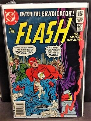 The Flash #314 Vf/nm - Bronze Age Dc - Cw Tv Show