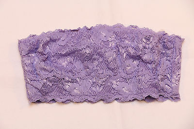"Cosabella ""Never Say Never Flirtie"" lace Bandeau Bra (S) *NEW* lavender"