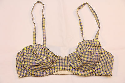 "Only Hearts ""Plaid"" cotton, underwire Bra (M) *NEW*"