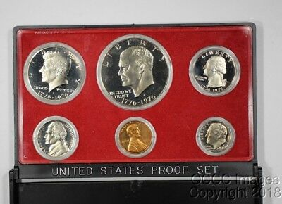 1975 San Francisco Proof Set / Original Mint Packaging / No Stickers or Writing