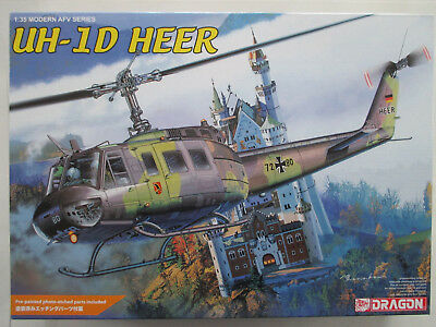Bell UH-1D Iroquois   1:35  DRAGON 3542     TOP!  OVP!  RARITÄT!