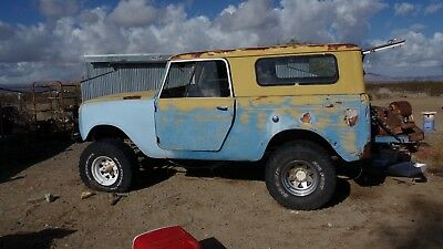 1961 International Harvester scout 80 Shortbed 1961 scout 80
